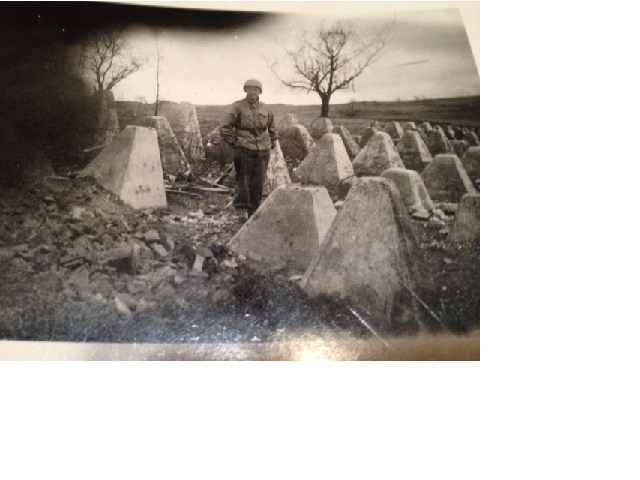 My Dad Amongst Dragon's Teeth in WW II