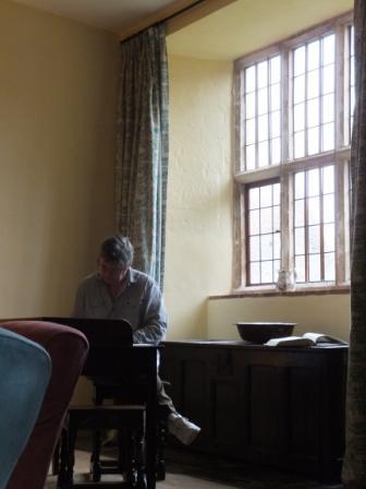 Dave writing